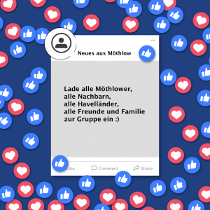 """Read more about the article """"Neues aus Möthlow"""" – unsere Facebook Gruppe"""